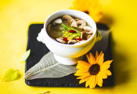 Food, Dish, Cuisine, Ingredient, Soup, Comfort food, Produce, Tom kha kai, Recipe, Asian soups,