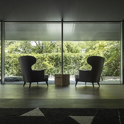 Floor, Furniture, Light, Architecture, Interior design, Property, Lighting, Tile, Chair, Room,