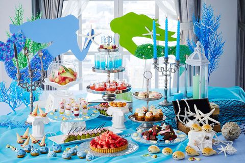 Birthday party, Party, Sweetness, Birthday, Table, Event, Dessert, Cake, Food, Baby shower,