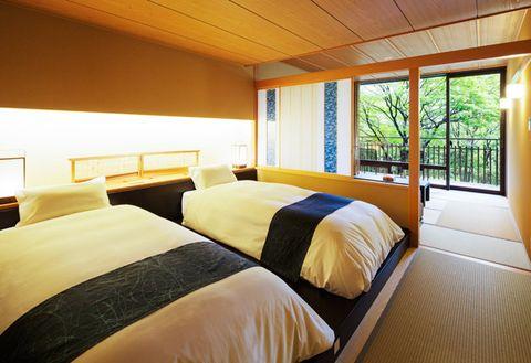 Bedroom, Room, Bed, Furniture, Property, Interior design, Bed frame, Building, Ceiling, Bedding,