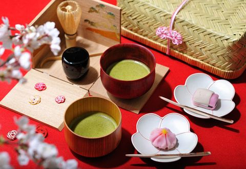 Food, Cuisine, Dish, Chinese herb tea, Vietnamese lotus tea, Tea, Drink, Tableware, Dessert, Ingredient,