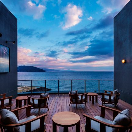 Sky, Blue, Room, Property, Azure, Sea, House, Ocean, Interior design, Real estate,