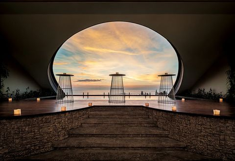 Sky, Water, Landmark, Light, Architecture, Bridge, Cloud, Night, Reflection, Horizon,