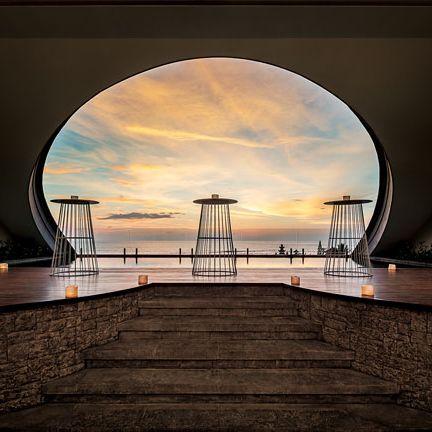 Sky, Water, Landmark, Light, Bridge, Architecture, Reflection, Cloud, Night, Horizon,