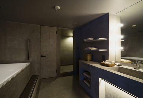 Property, Room, Interior design, Bathroom, Architecture, Building, Furniture, House, Wall, Floor,