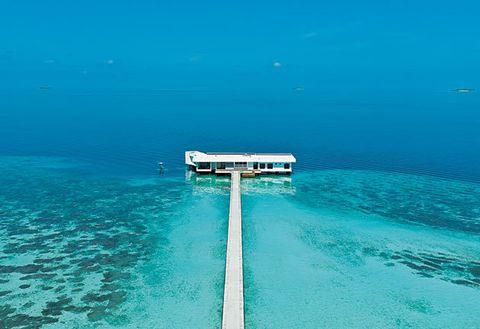 Blue, Water, Sea, Sky, Ocean, Aqua, Turquoise, Azure, Underwater, Horizon,