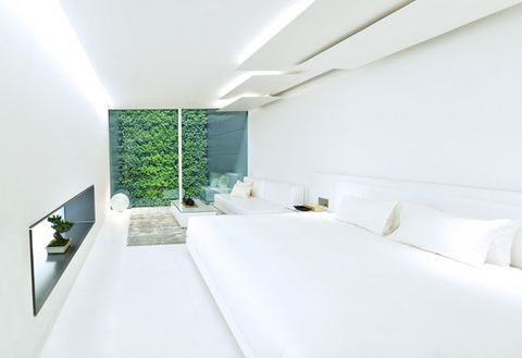 Room, Property, Interior design, Textile, Wall, Ceiling, Bed, Real estate, Linens, Floor,