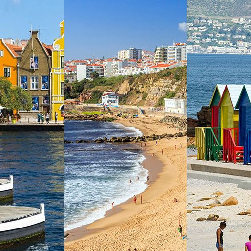 Body of water, Coastal and oceanic landforms, Coast, Shore, Tourism, People on beach, Sand, Beach, Bay, Holiday,