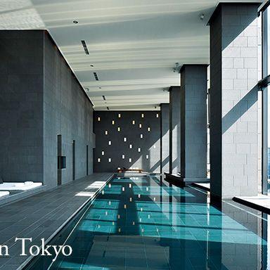 Architecture, Building, Lobby, Interior design, Swimming pool, Room, Condominium, Glass, Leisure, Ceiling,