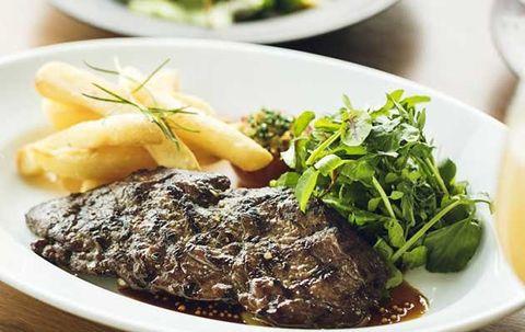 Dish, Food, Cuisine, Ingredient, Steak au poivre, Produce, Meat, Steak, Recipe, Tafelspitz,