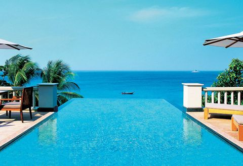 Swimming pool, Resort, Property, Vacation, Leisure, Real estate, Azure, Building, House, Estate,
