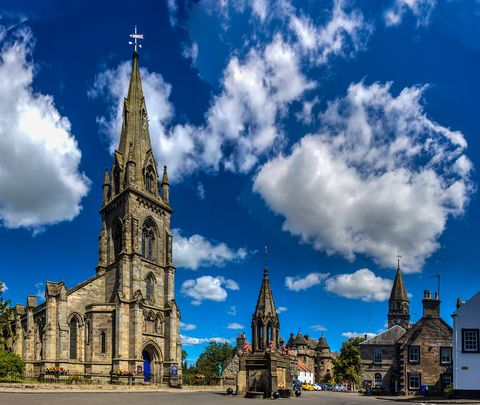 Sky, Landmark, Spire, Architecture, Cloud, Steeple, Daytime, Building, Cathedral, Church,
