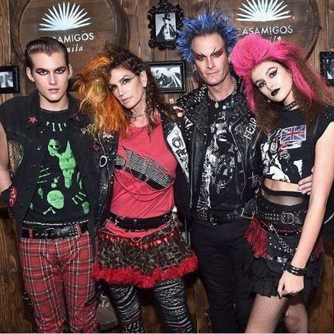 fashion, event, tartan, fashion design, gothic fashion, goth subculture, plaid, fashion accessory, party, style,