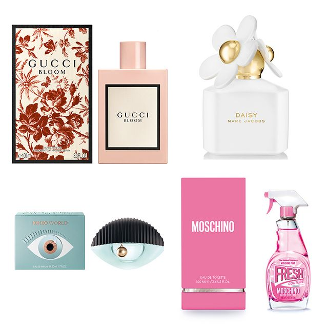 Perfume, Pink, Teal, Peach, Cosmetics, Lavender, Turquoise, Rectangle, Circle, Label,