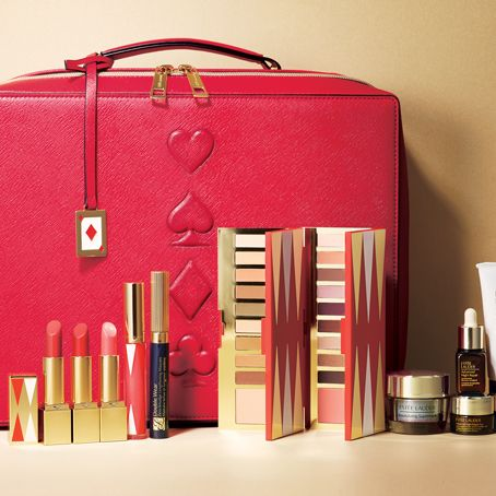 Pink, Red, Beauty, Cosmetics, Material property, Lipstick, Nail care, Bag, Lip gloss,