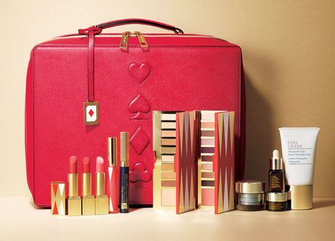 Pink, Beauty, Cosmetics, Material property, Lipstick, Nail care, Bag, Hand luggage, Lip gloss,