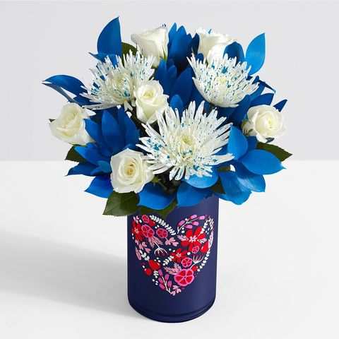 Flower, Blue, Bouquet, Cut flowers, Plant, Flowerpot, Flowering plant, Petal, Floristry, Flower Arranging,