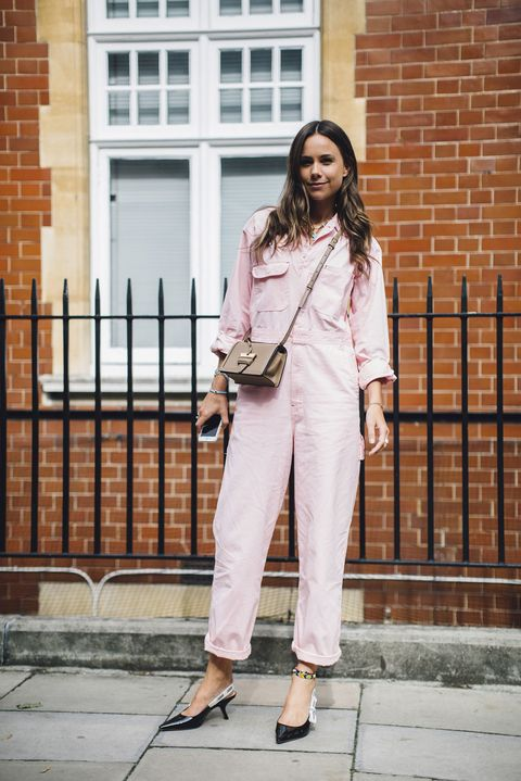 Clothing, White, Street fashion, Pink, Jeans, Blazer, Fashion, Jacket, Denim, Outerwear,