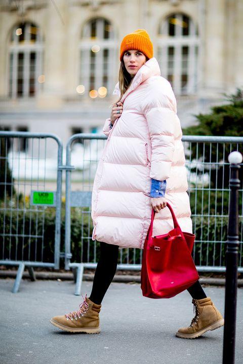 White, Clothing, Street fashion, Pink, Photograph, Fur, Fashion, Snapshot, Footwear, Yellow,
