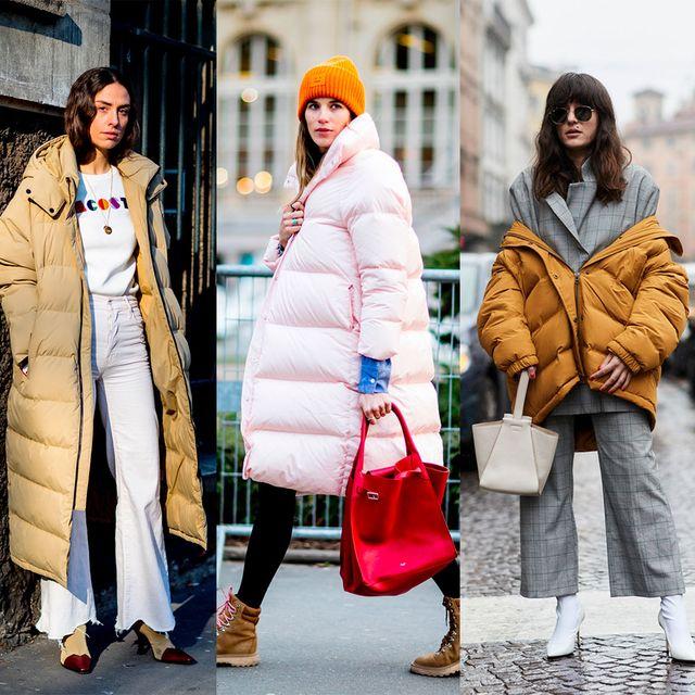 Clothing, Street fashion, White, Fashion, Fur, Yellow, Outerwear, Coat, Pink, Overcoat,