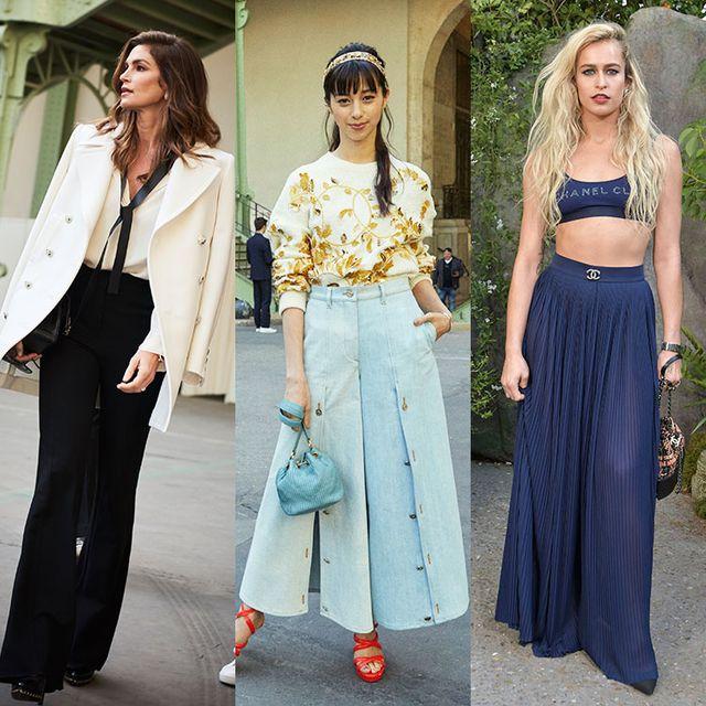 Clothing, Street fashion, Fashion, Dress, Crop top, Waist, Shoulder, Jeans, Footwear, Trousers,