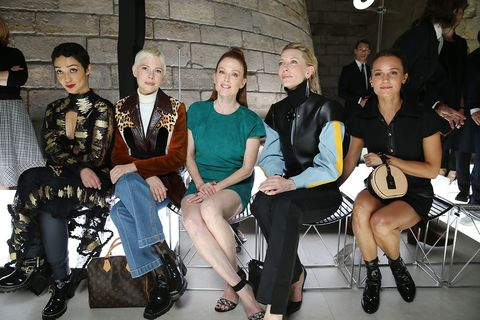 Social group, Fashion, Event, Sitting, Fashion design, Team, Fashion accessory, Tourism, Style,