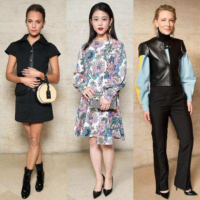 Clothing, Fashion model, Fashion, Footwear, Fashion design, Outerwear, Dress, Formal wear, Jacket, Sleeve,
