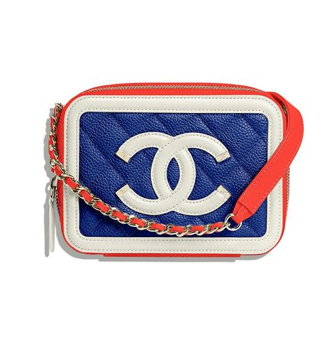 Fashion accessory, Font, Rectangle, Bag, Symbol, Electric blue, Emblem,
