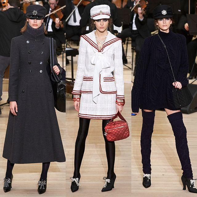 Fashion, Clothing, Fashion model, Coat, Overcoat, Runway, Outerwear, Footwear, Fashion show, Headgear,