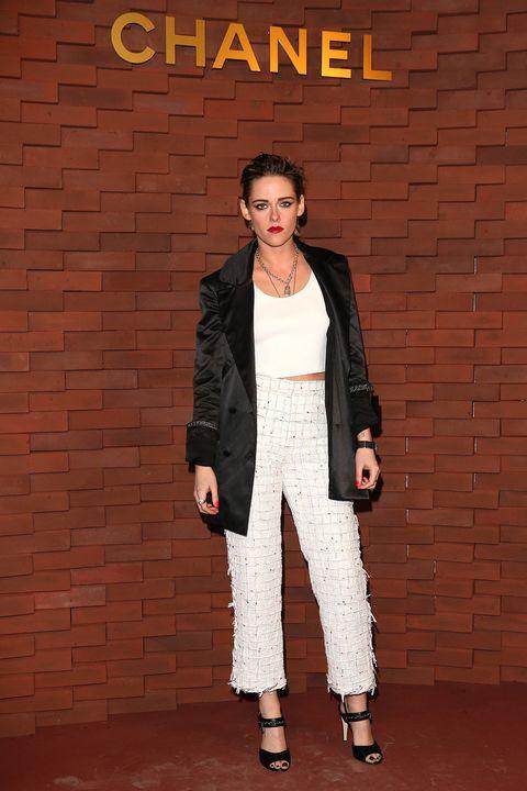 Clothing, Fashion, Fashion model, Outerwear, Pantsuit, Fashion design, Suit, Blazer, Photography, Trousers,