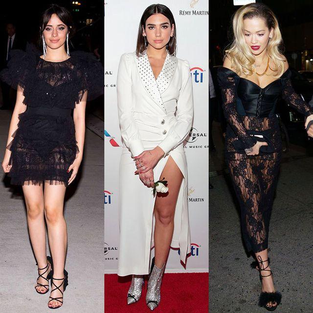 Fashion model, Clothing, Fashion, Leg, Dress, Footwear, Shoe, Cocktail dress, Lip, Human leg,