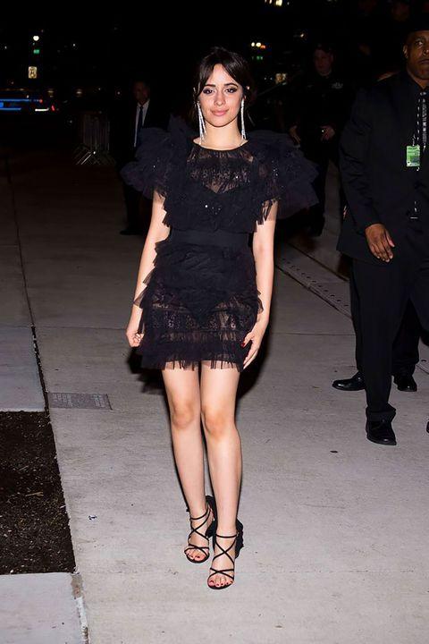 Clothing, Fashion model, Fashion, Dress, Leg, Little black dress, Shoulder, Cocktail dress, Footwear, Joint,