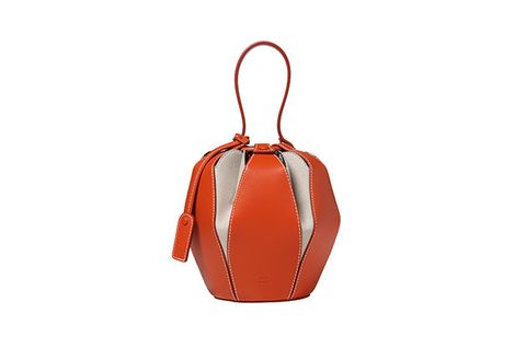 Bag, Handbag, Orange, Tan, Brown, Fashion accessory, Leather, Shoulder bag, Luggage and bags,