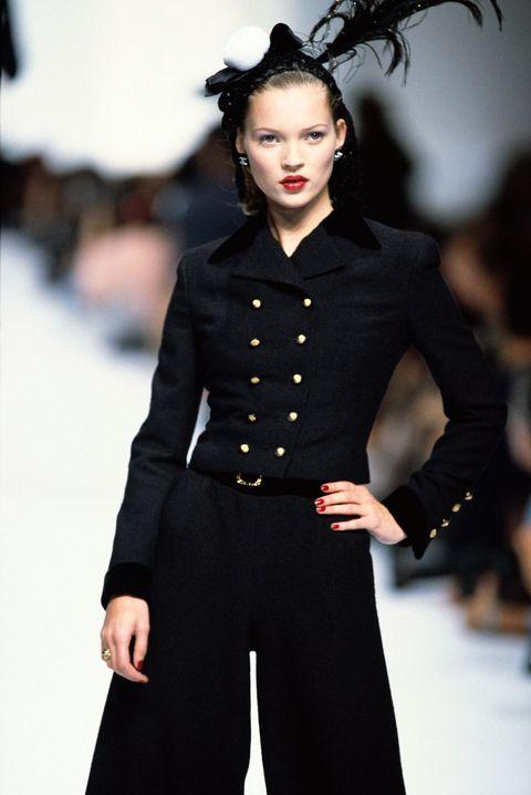 Fashion, Fashion model, Runway, Fashion show, Clothing, Haute couture, Coat, Model, Fashion design, Outerwear,