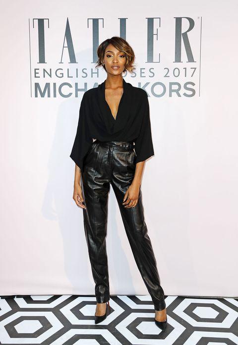 Clothing, Sleeve, Trousers, Denim, Outerwear, Style, Street fashion, Fashion model, Fashion, Black,