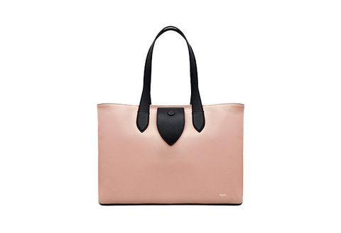 Handbag, Bag, Tote bag, Fashion accessory, Leather, Brown, Beige, Tan, Shoulder bag, Luggage and bags,