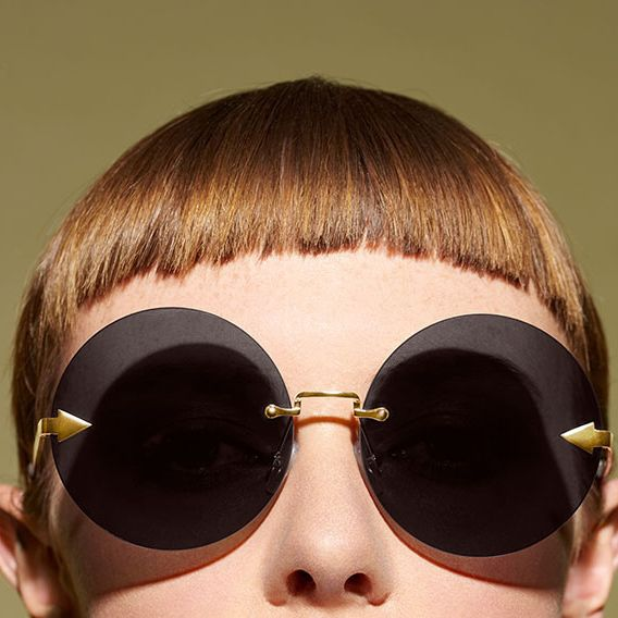 Eyewear, Sunglasses, Hair, Face, Glasses, Cool, Personal protective equipment, Hairstyle, Head, Nose,