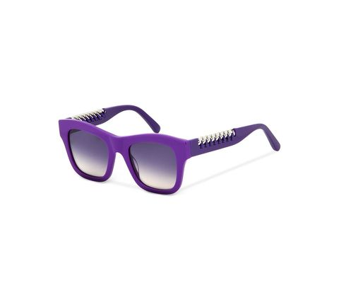 Eyewear, Sunglasses, Glasses, Violet, Personal protective equipment, Purple, Vision care, Goggles, Material property, Transparent material,