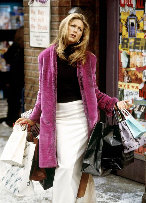 Clothing, Street fashion, Fashion, Pink, Outerwear, Snapshot, Shopping, Sweater, Footwear, Scarf,
