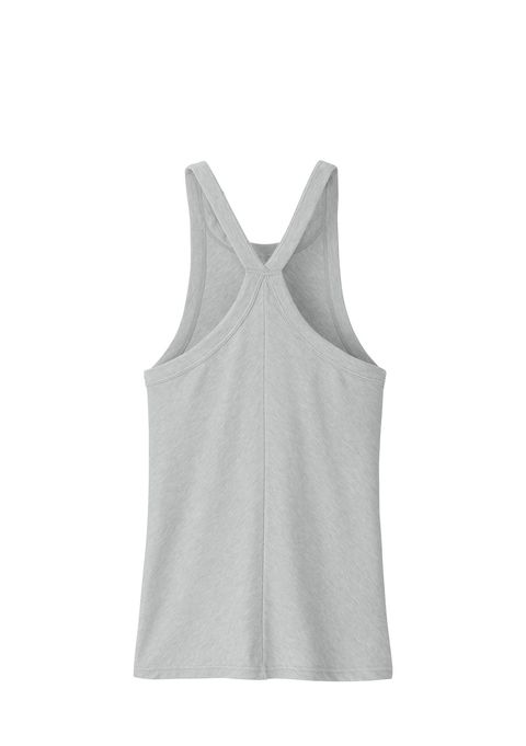 White, Clothing, Active tank, Sleeveless shirt, Outerwear, Grey, Sportswear, camisoles, Undergarment, Beige,