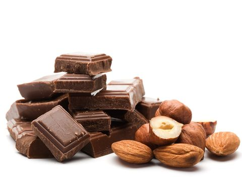 Food, Chocolate, Confectionery, Cuisine, Toffee, Hazelnut, Chocolate bar, Ingredient, Cocoa solids, Nut,