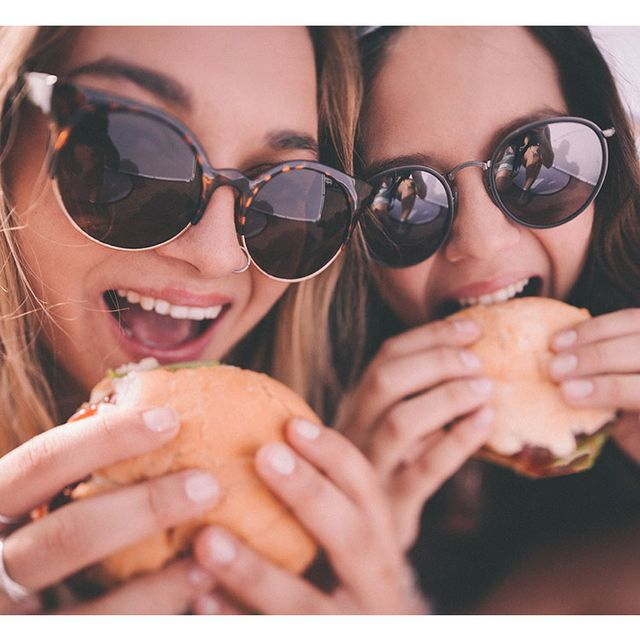 Eyewear, Sunglasses, Glasses, Facial expression, Cool, Vision care, Beauty, Friendship, Nose, Lip,