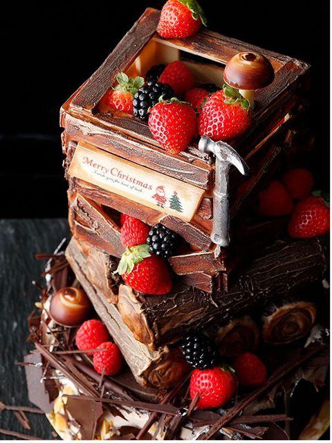 Food, Dessert, Chocolate cake, Cuisine, Chocolate, Cake, Sweetness, Fruit cake, Baked goods, Dish,