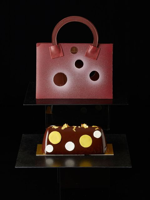 Brown, Design, Bag, Chocolate, Sweetness, Fashion accessory, Still life, Food, Handbag, Packaging and labeling,