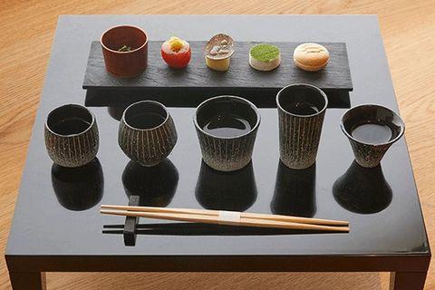 Table, Chopsticks,