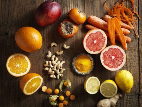 Food, Citrus, Orange, Fruit, Clementine, Grapefruit, Still life photography, Rangpur, Ingredient, Superfood,