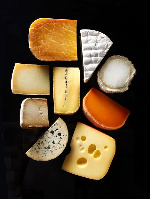 Cheese, Still life photography, Dairy, Food, Still life, Swiss cheese, Provolone, Gruyère cheese, Processed cheese, Snack,