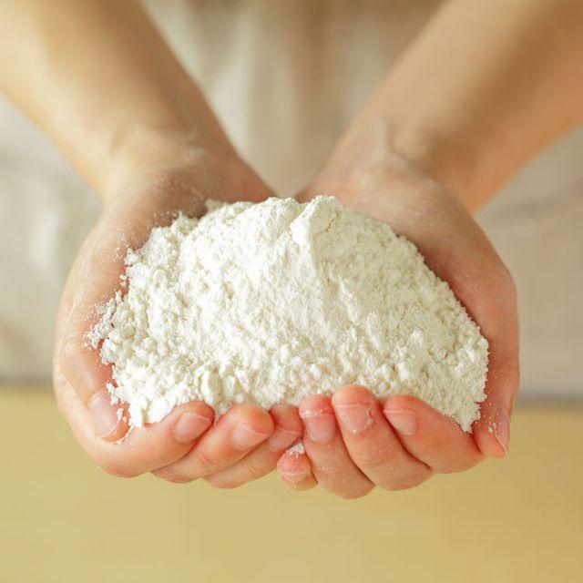 Food, All-purpose flour, Wheat flour, Hand, Cuisine, Ingredient, Flour, Dish, Ricotta, Dough,