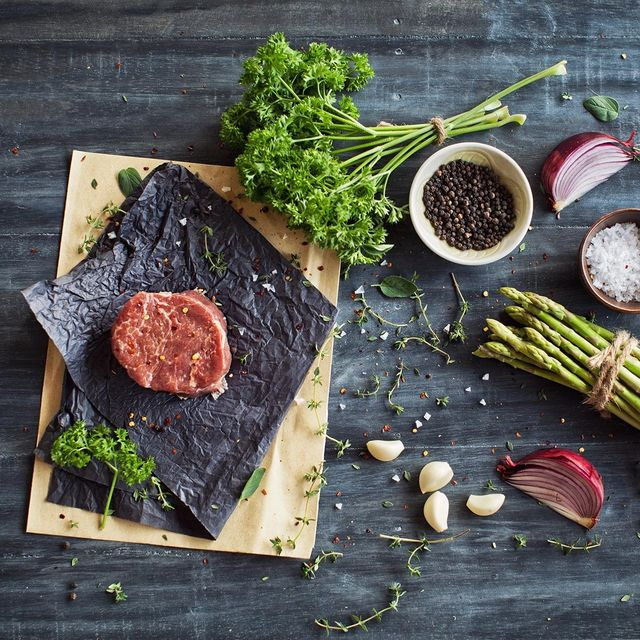 Food, Dish, Flat iron steak, Cuisine, Ingredient, Venison, Steak, Salt-cured meat, Pastrami, Superfood,