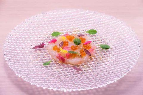 Food, Dish, Cuisine, Pink, Crudo, Ingredient, Plate, Sweetness, Dessert, Recipe,